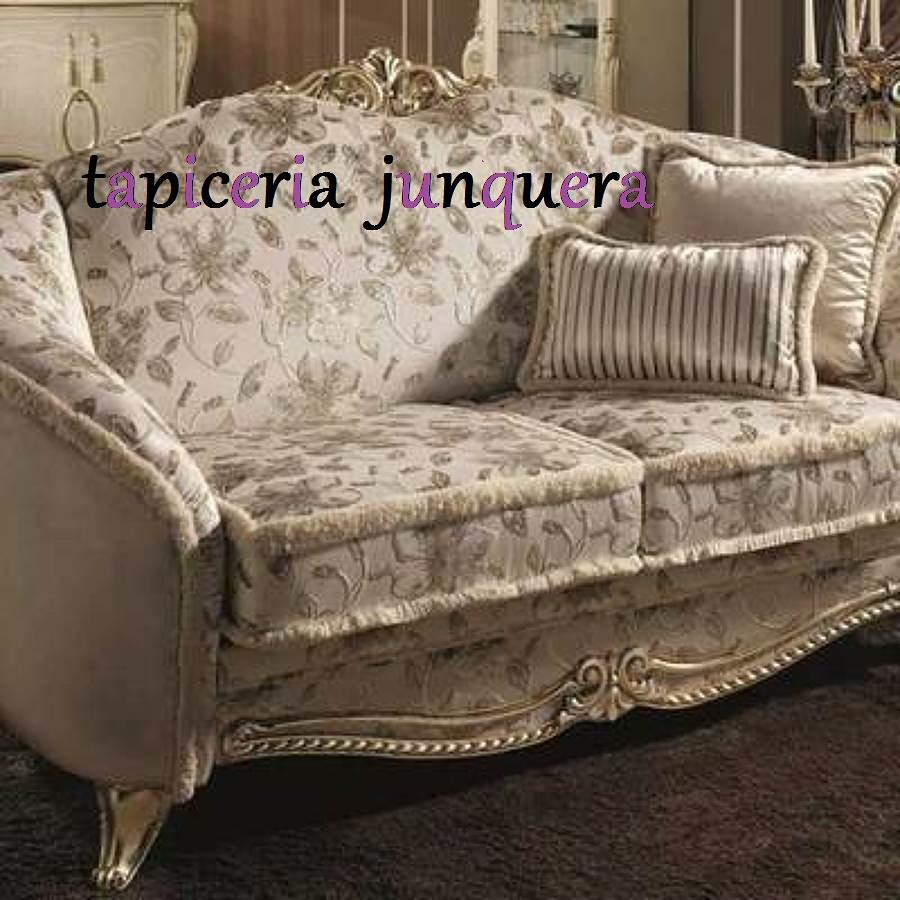 Foto sofa echo a medida de tapiceria junquera 1457681 habitissimo - Tapiceros tarragona ...