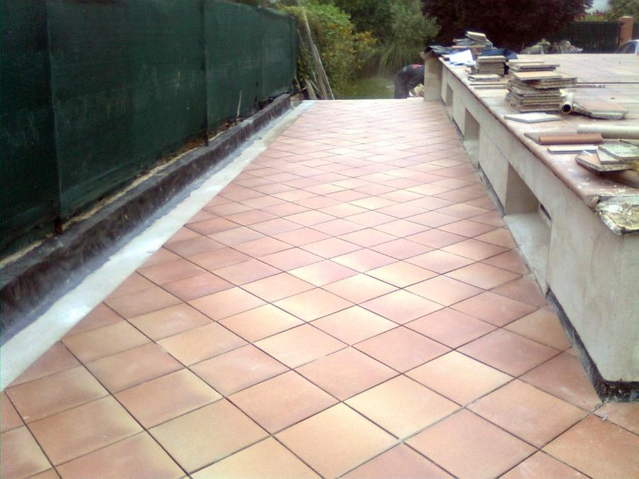 Foto solado de gres r stico especial para exterior ii de - Gres para escaleras ...