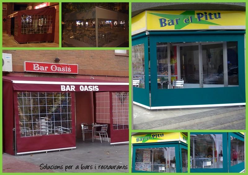 Foto soluciones para bares y terrazas de tendals natura 373431 habitissimo - Soluciones para terrazas ...