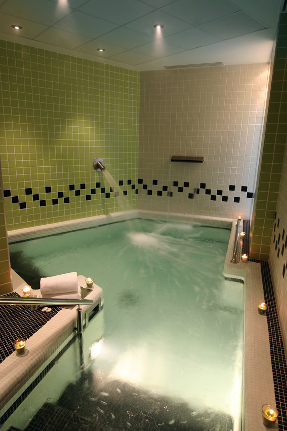 Spa en el Hotel Don Manuel, en Cáceres
