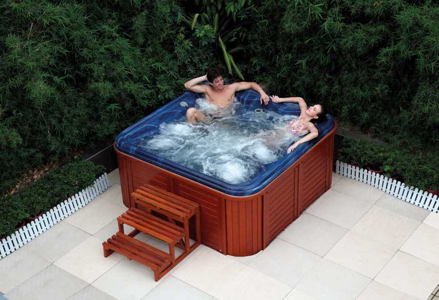 Spa jacuzzi exterior AS-001