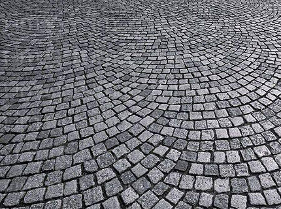 Foto suelo de adoquines de granitos romero 461517 for Adoquines de granito