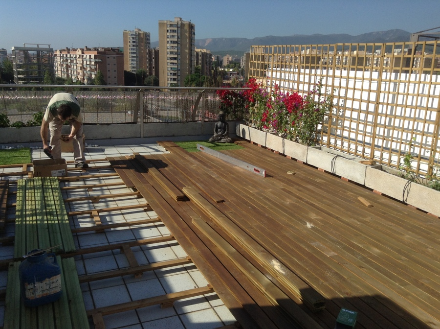 Decorar cuartos con manualidades suelos de madera para - Suelo de exterior barato ...