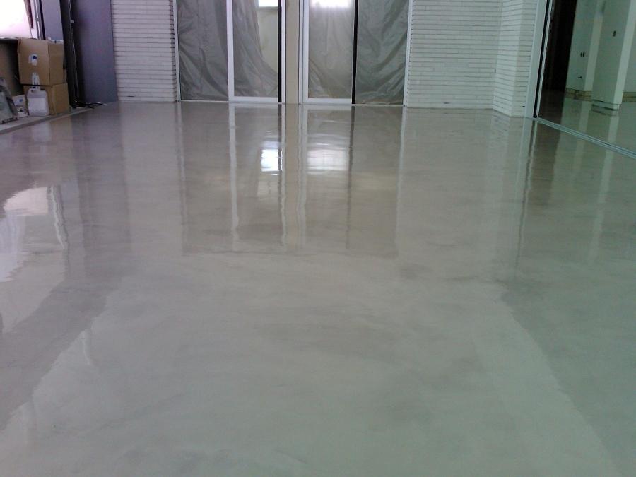 Foto suelo de microcemento de novissimo 406147 habitissimo - Suelos de microcemento ...