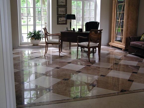 Foto suelo marmol de nov alicatados pavimentos 246958 for Marmol para suelos