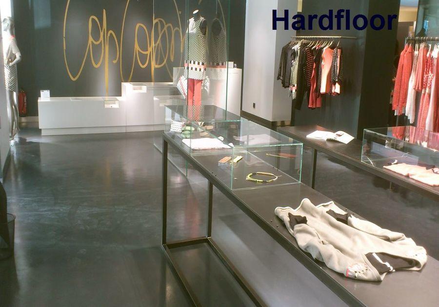 Foto suelo resina epoxi en tienda de ropa de hardfloor - Suelos de resina epoxi ...