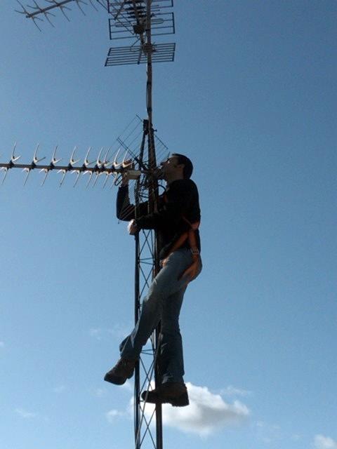Sustitucion Antena