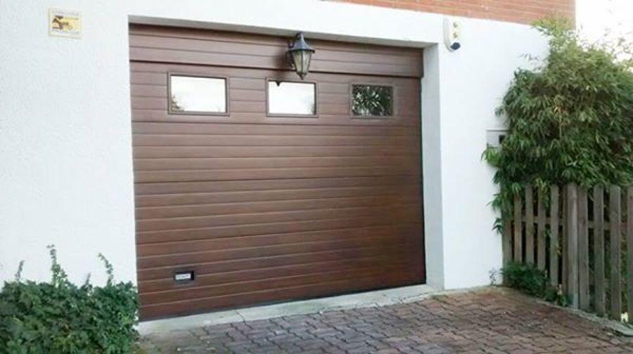 Foto sustitucion puertas garaje pamplona de navatek - Puertas de garaje murcia ...