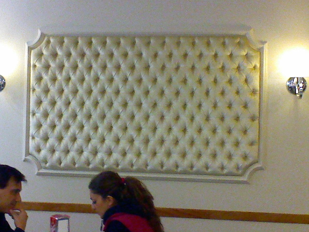 Foto tam fer tapicerias panel tapizado en capitone de - Tapiceros en granada ...