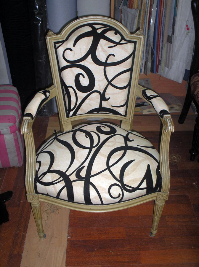 Foto tapicer a de sillas de tapicer a reyes 438594 - Tapiceros en salamanca ...