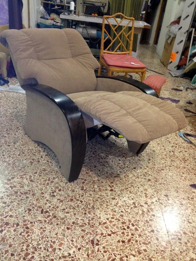 tapizado de sillón relax