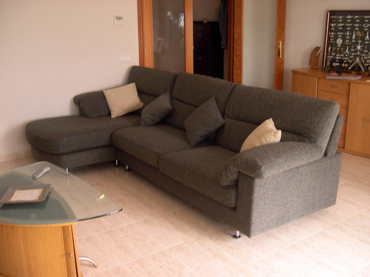 Foto tapizado de sof con chaisselongue de tapizados y for Tapizado de sofas