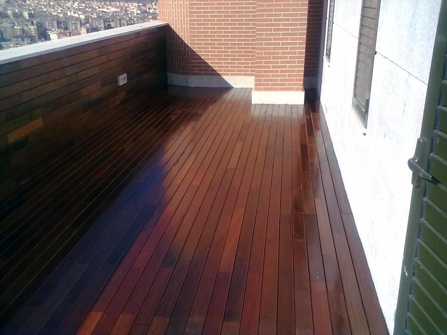 Foto tarima de exteriores en terraza de parquets martin - Tarima para terraza ...