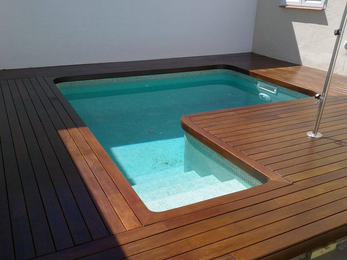 Foto tarima de ipe para exterior de adg suelos de madera for Ipe madera exterior