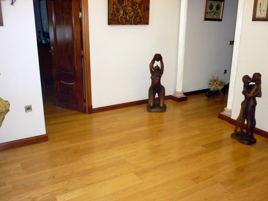 Foto tarima flotante de madera natural de parquecite sl - Tarima flotante de madera ...