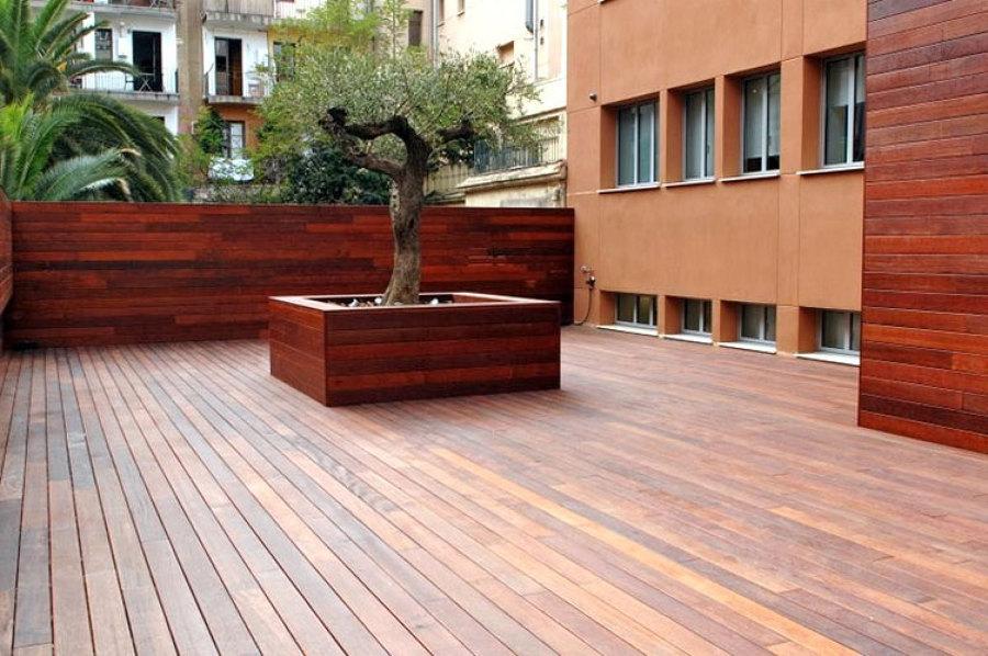 Foto tarima y valla en madera de ipe de grupo lober 507283 habitissimo - Madera de ipe ...