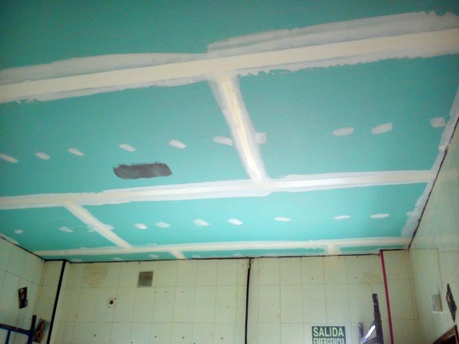 Foto techo antihumedad en pladur de servimaxum 391104 - Fotos de techos de pladur ...