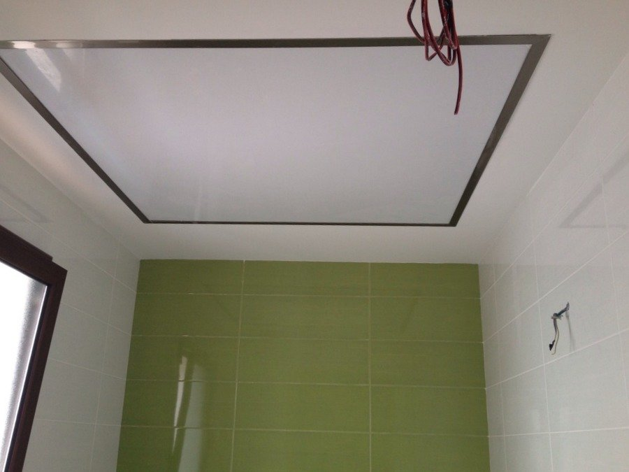 Foto iluminaci n techo de ba o de gozeco intermal - Iluminacion techo bano ...