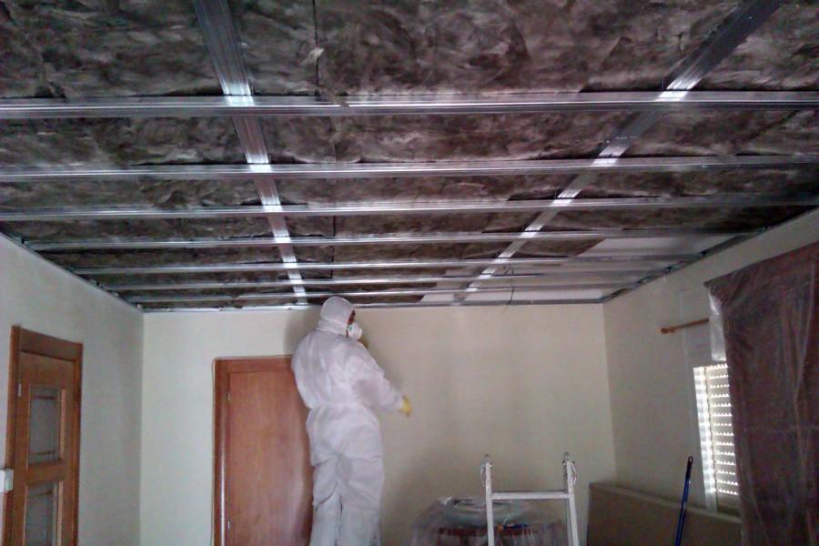 Foto techo con aislamiento t rmico en atico de dissenys i - Aislante termico para techos ...