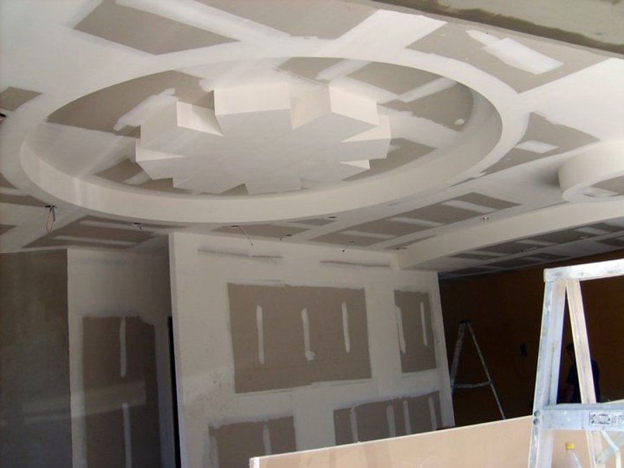 techo con decoración