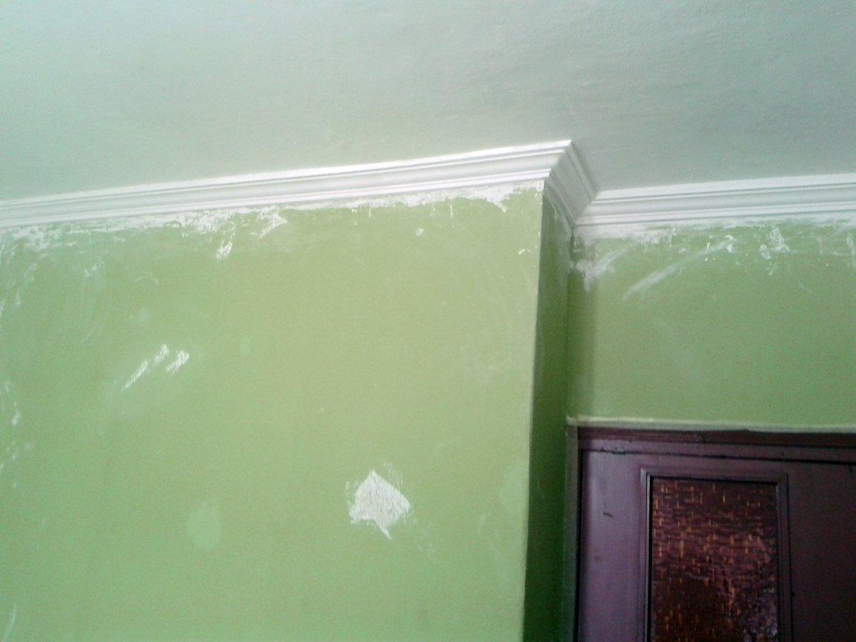 Foto techo de escayola con moldura de el manitas 441202 - Molduras de escayola en madrid ...