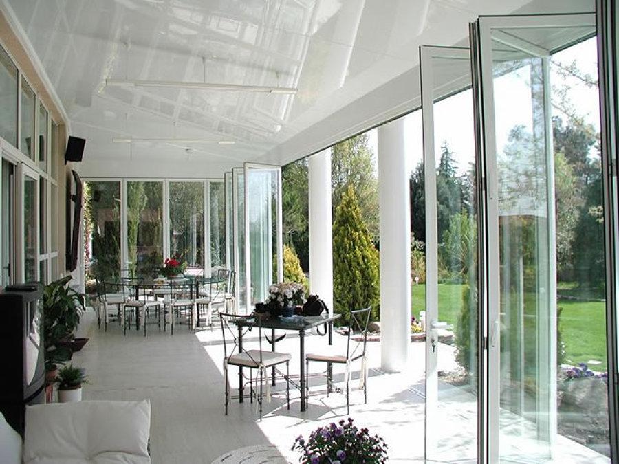 Foto techo de panel sandwich de aluminio de tecnimax3c for Techos terrazas fotos