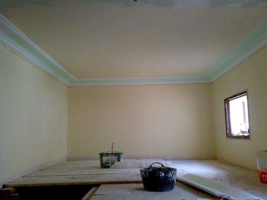 Foto techo de pladur y moldura de escayola de gonzalo raboso 197068 habitissimo - Techos de escayola ...