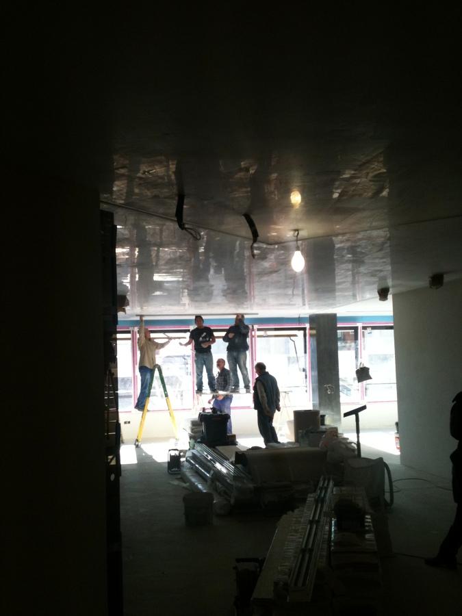 techo de stucco