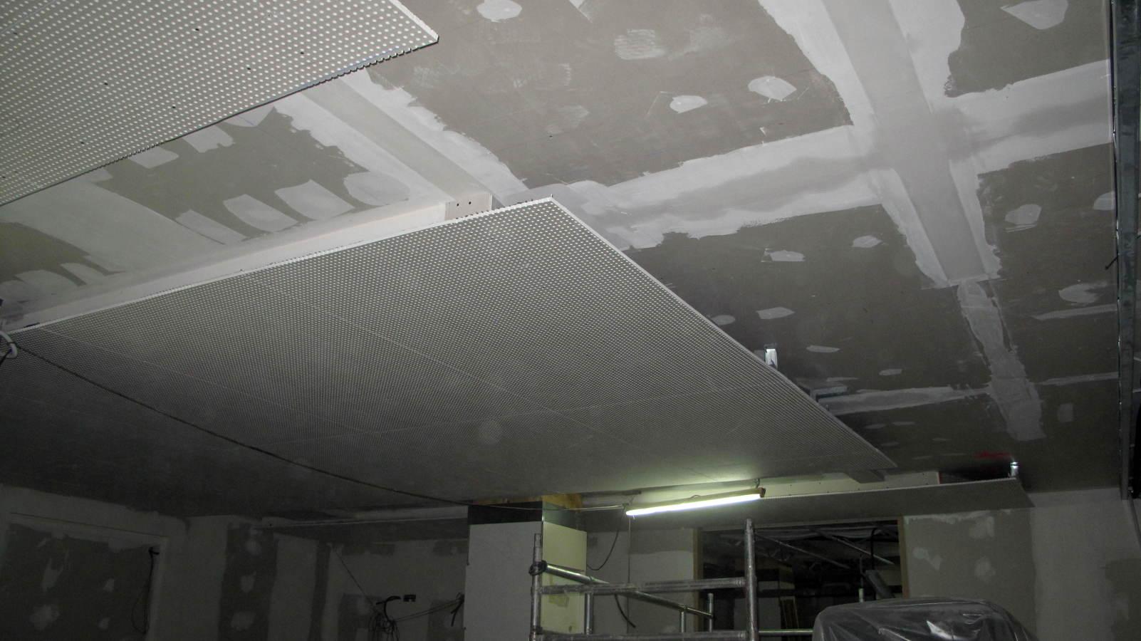 Foto techo de terminacion sobre techo de insonorizaci n - Placas de insonorizacion ...