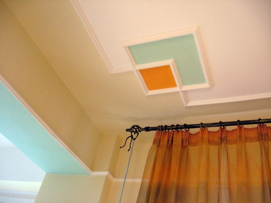 Foto techo decorado de dc decoraciones y colores 229064 for Techos decorados