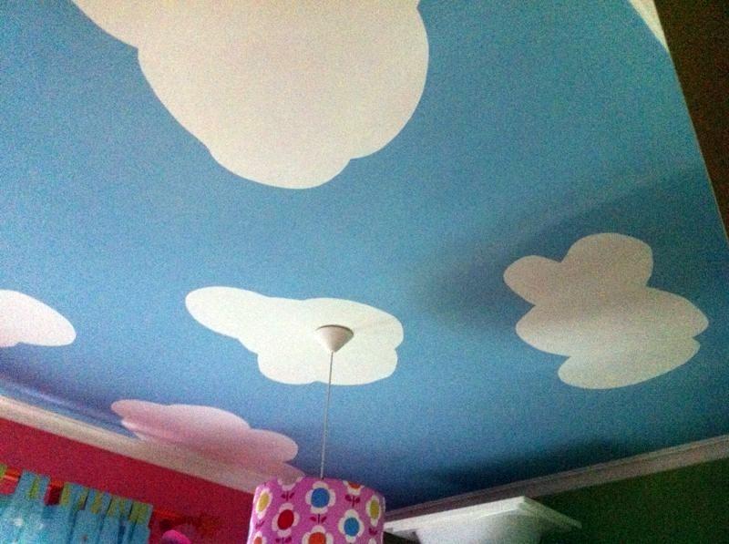 Foto techo decorado de jos manuel jim nez pintura y for Techos decorados