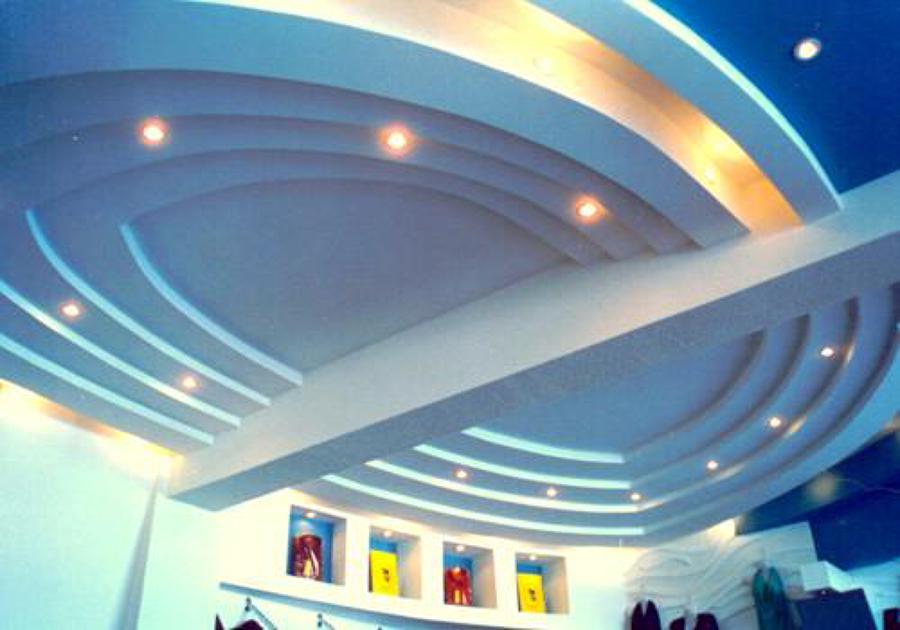 Foto techo decorativo pladur de construcciones y reformas - Techos pladur decorativos ...