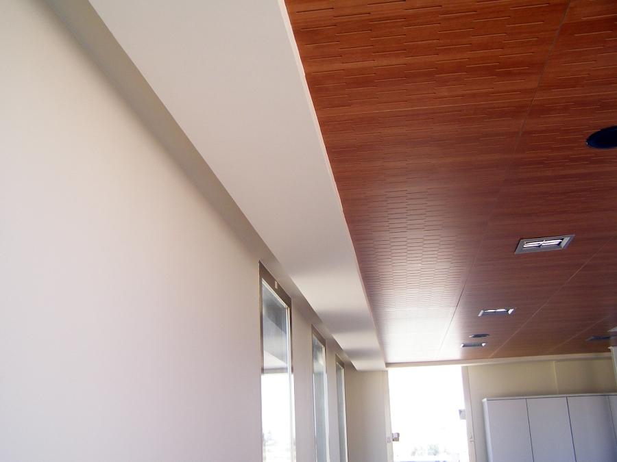 Foto techo desmontable de gimaplac 394859 habitissimo - Techo desmontable madera ...