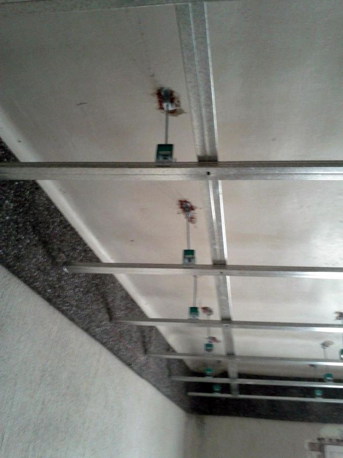 techo en una sala de musica