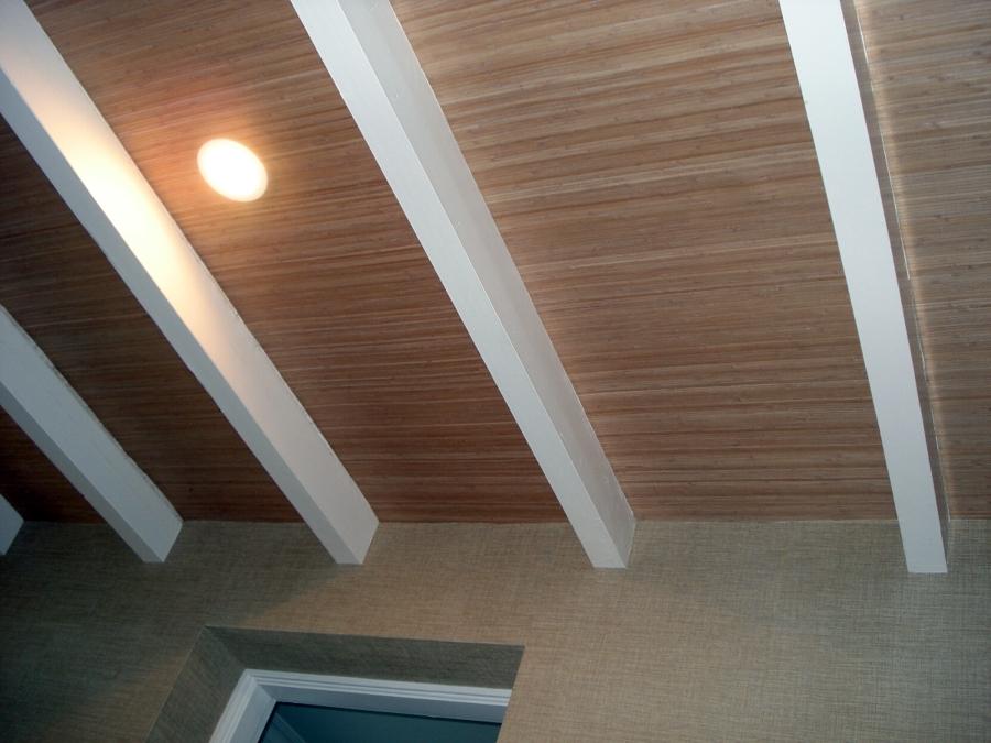 Foto techo entrada de papel chino madera de isidoro mora - Papel para techos ...