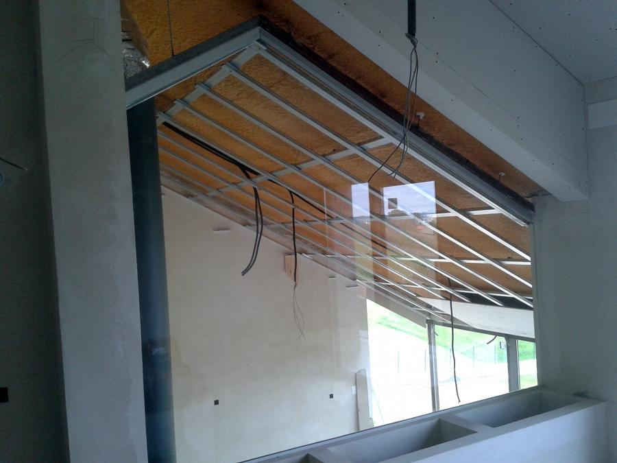 Foto techo inclinado de tabitech aislamientos 474467 - Aislamiento termico techos interior ...