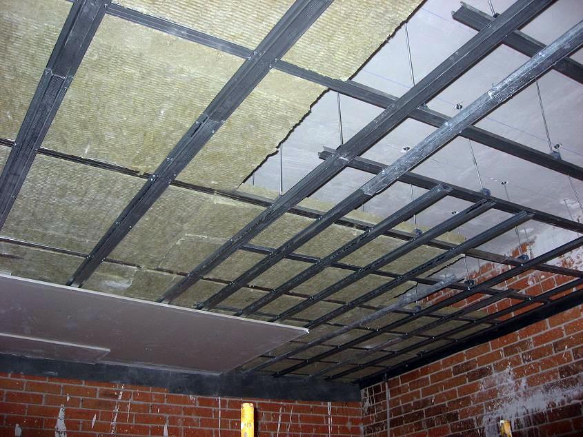 Foto techo insonorizacion de acustica profesional for Como encielar un techo