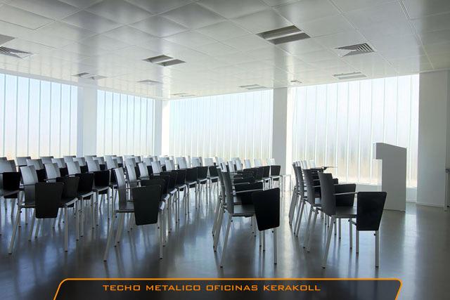 Techo Metalico oficinas KERAKOLL