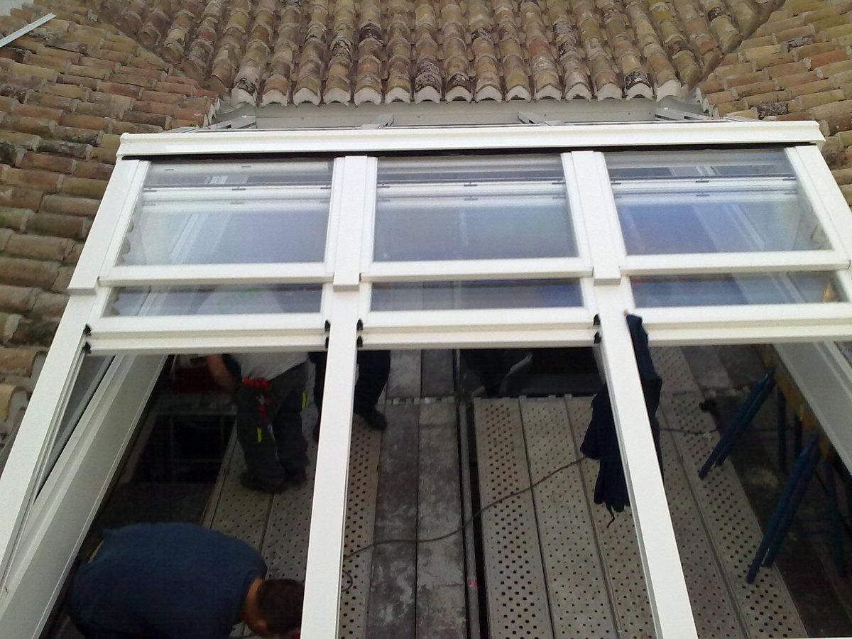 Foto techo movil de alumavel 152880 habitissimo - Techos moviles para patios ...
