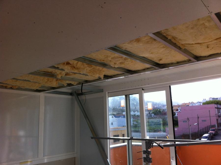 Foto techo pladur insonorizado de pablo exp sito 524583 - Fotos de techos de pladur ...