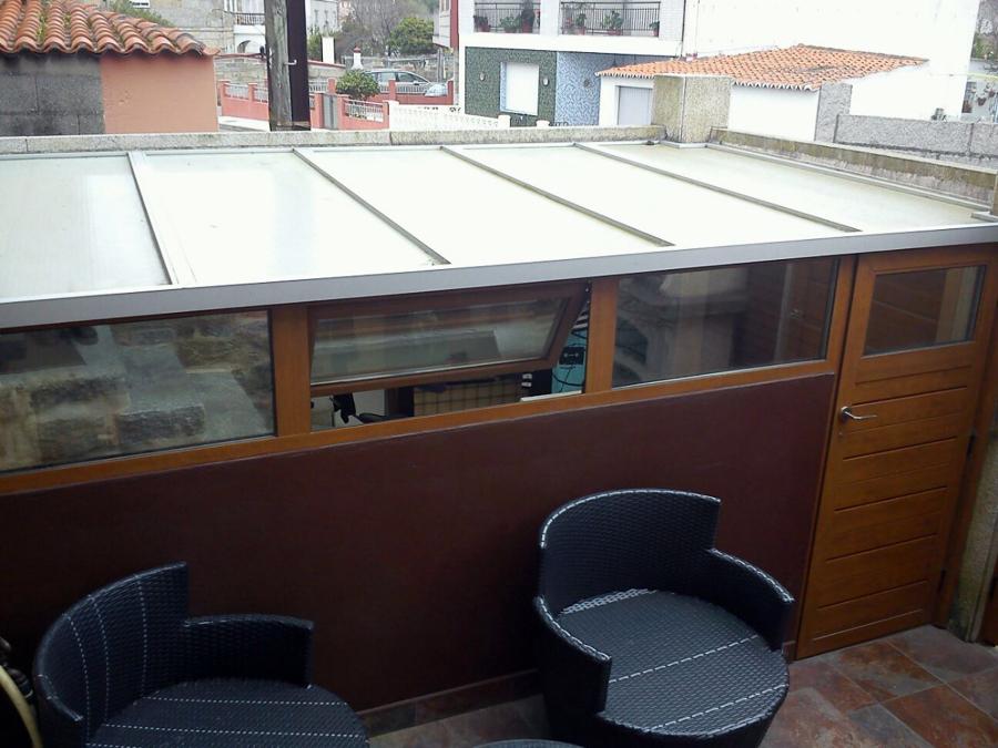 Cierre de terrazas ventanas de aluminio termopanel share for Cierres de aluminio para terrazas
