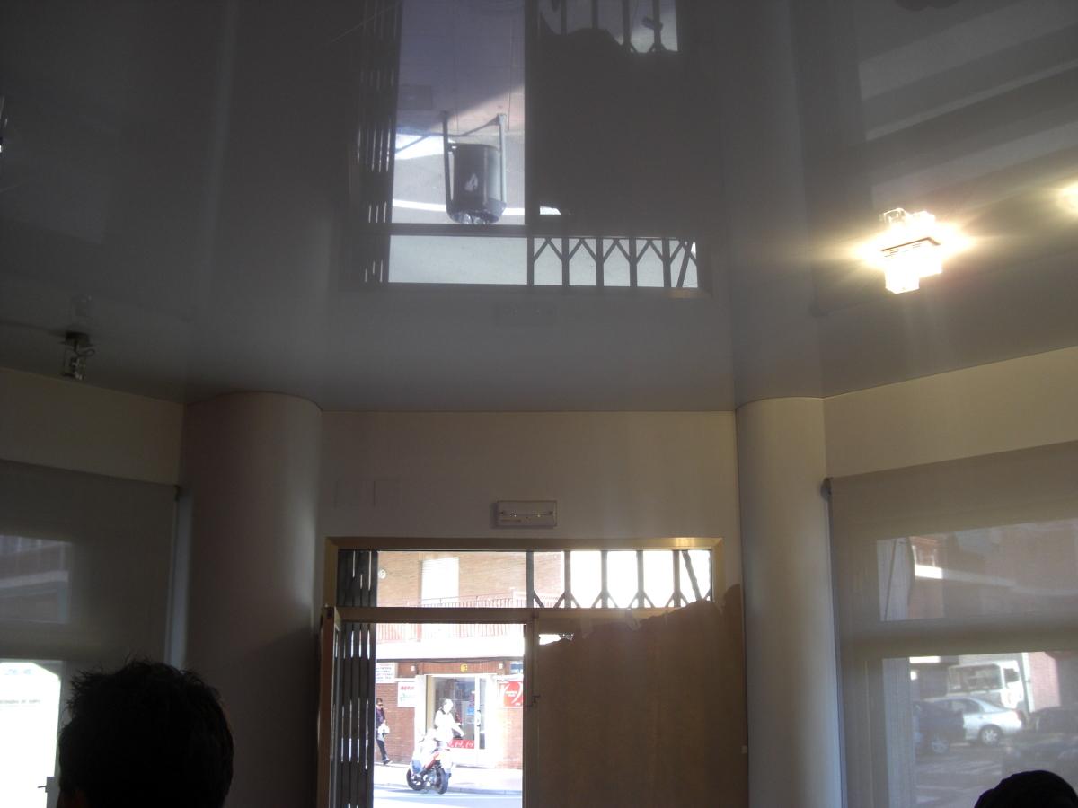 Foto techo tensado oficina de ek techos tensados 344684 - Techos tensados barcelona ...