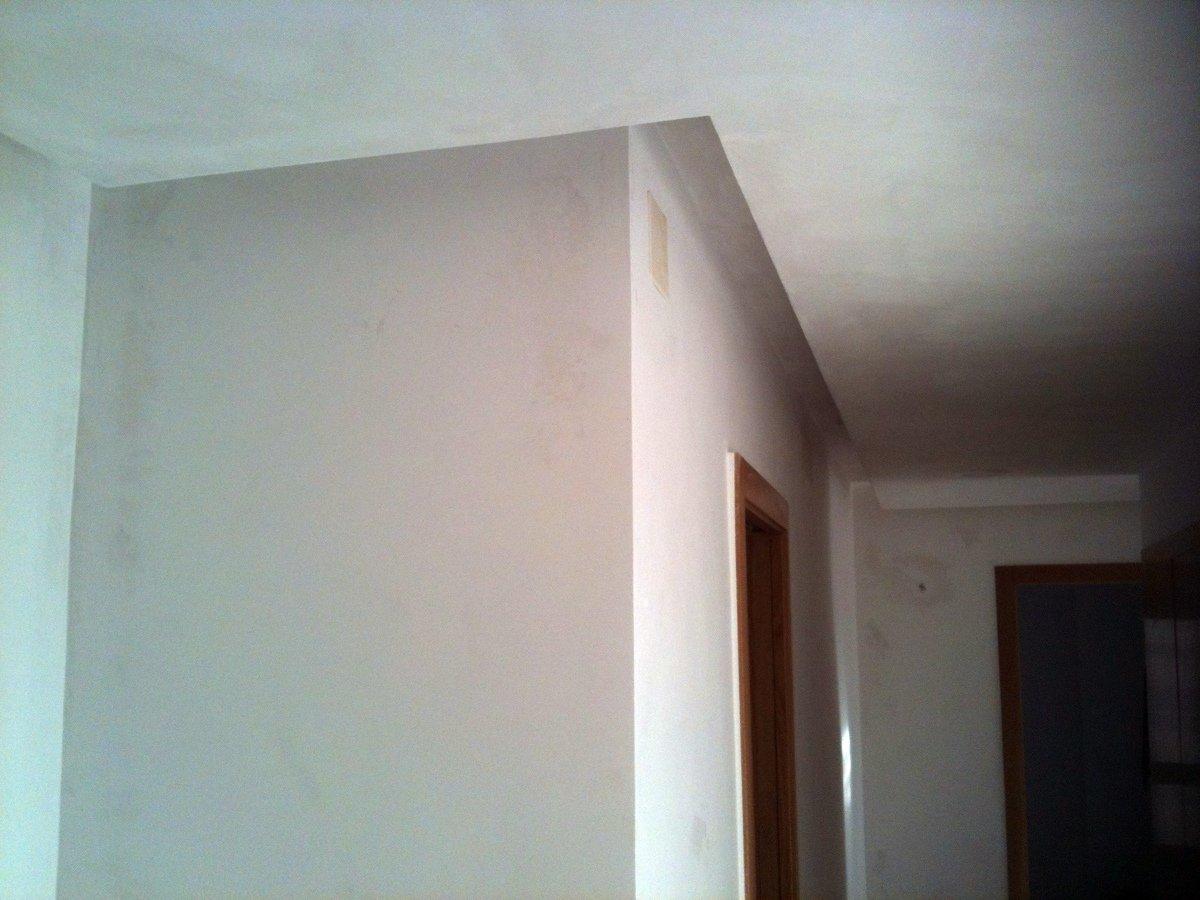 Foto techos de escayola de restauraci n y alba ileria s l for Techo desmontable escayola