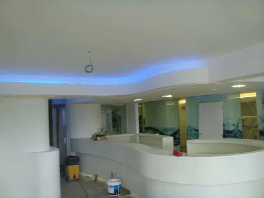 Foto techos decorativos de yeso laminado pladur de for Decoracion en techos interiores