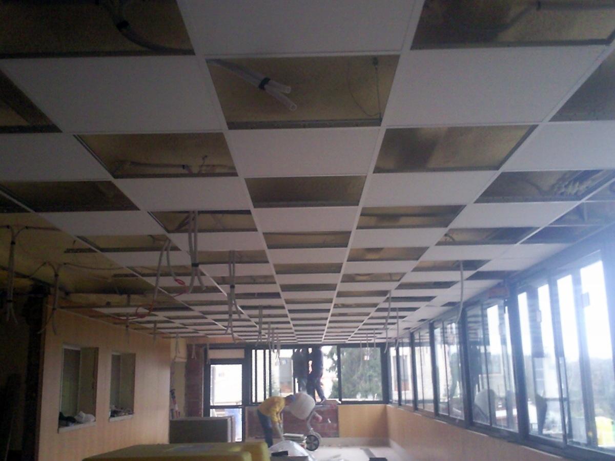 Foto techos registrables de j montajes de pladur - Techos registrables pladur ...