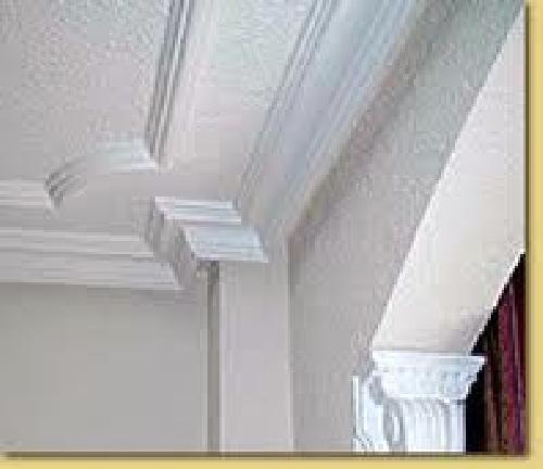 Deco on pinterest - Molduras de techo ...