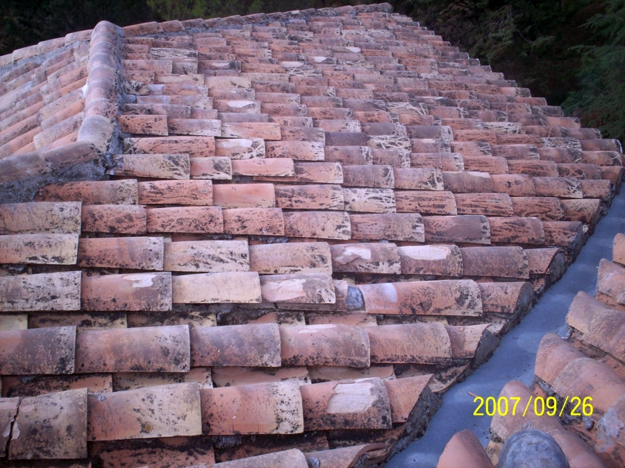 tejado arreglado