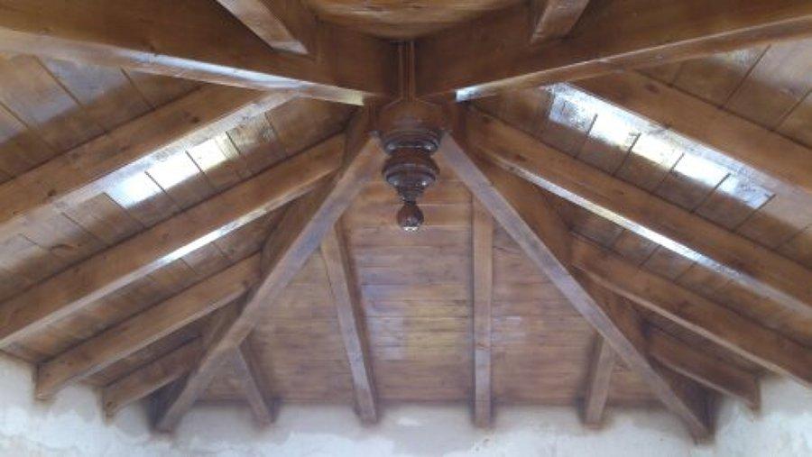 Foto tejado de madera de servicios integrales claudio for Tejados de madera barcelona