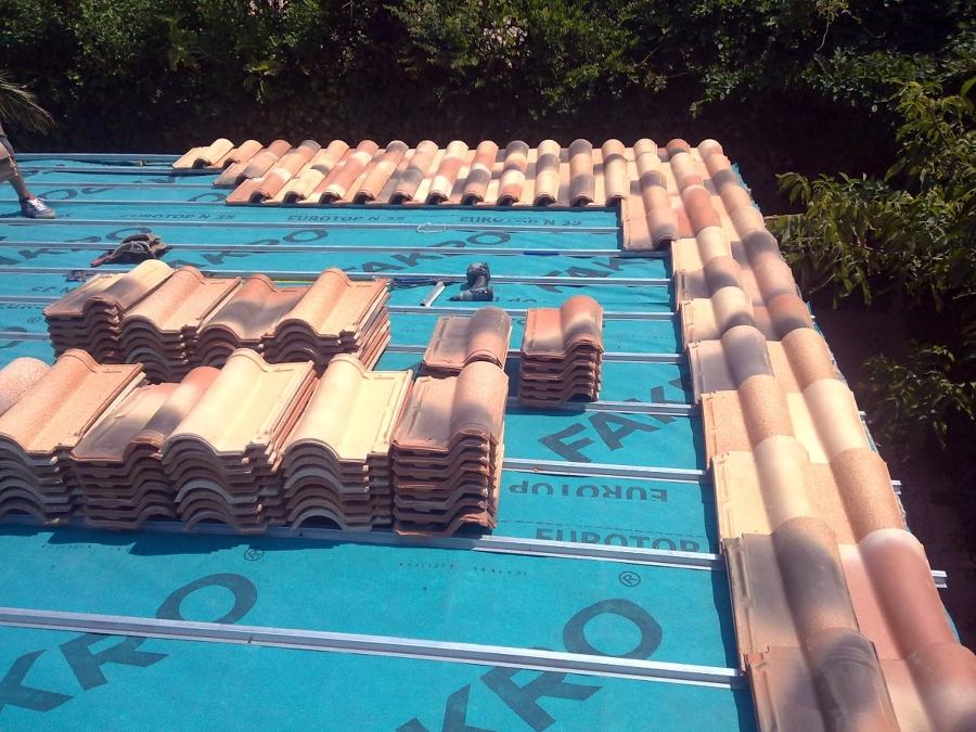 Foto tejado de teja mixta de elite reformas 144749 - Clases de tejas para tejados ...
