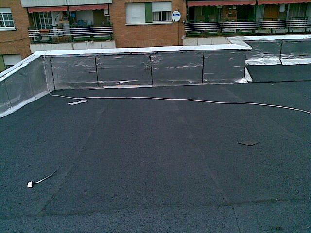 Foto tejado de uralita de de lite reformas e - Tejados de uralita ...